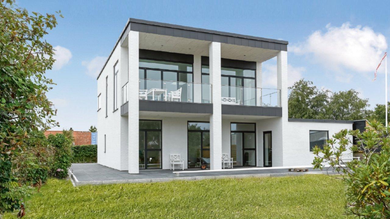 Hvidt 2 plans hus fra FBA Huse