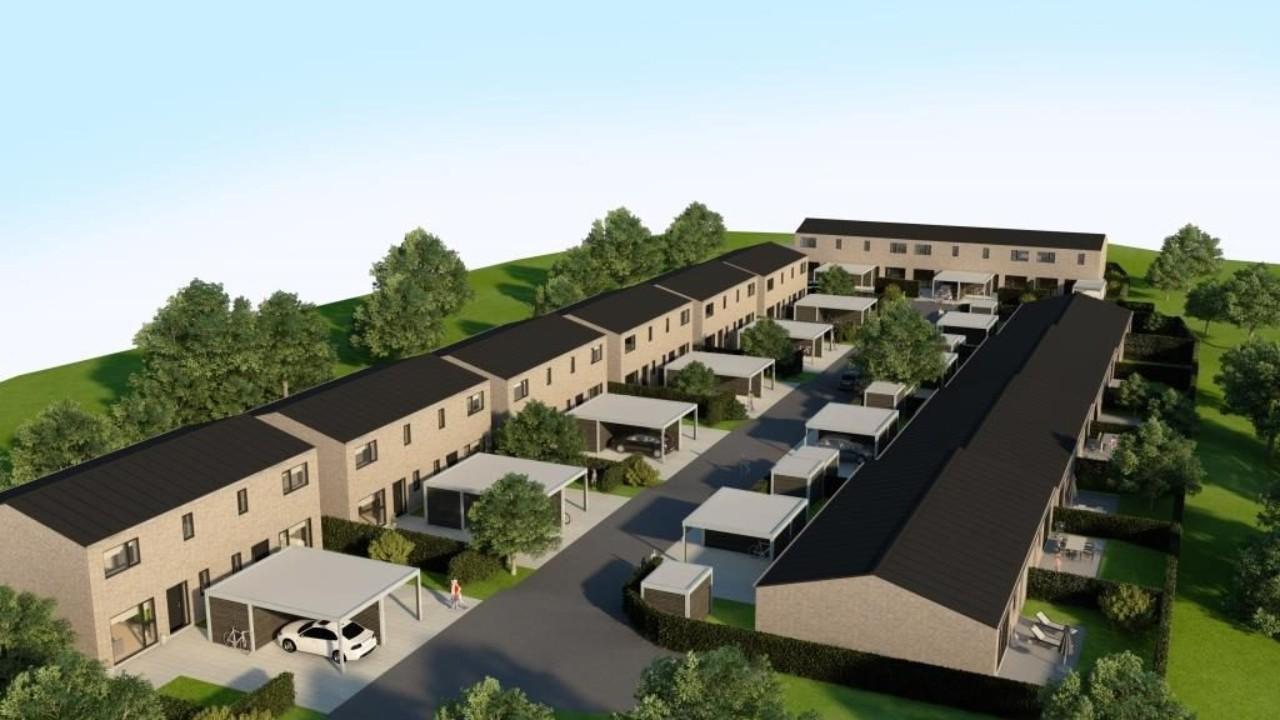 Animeret billede af Kettingparkvej der en et af FBA Huses byggeprojekter