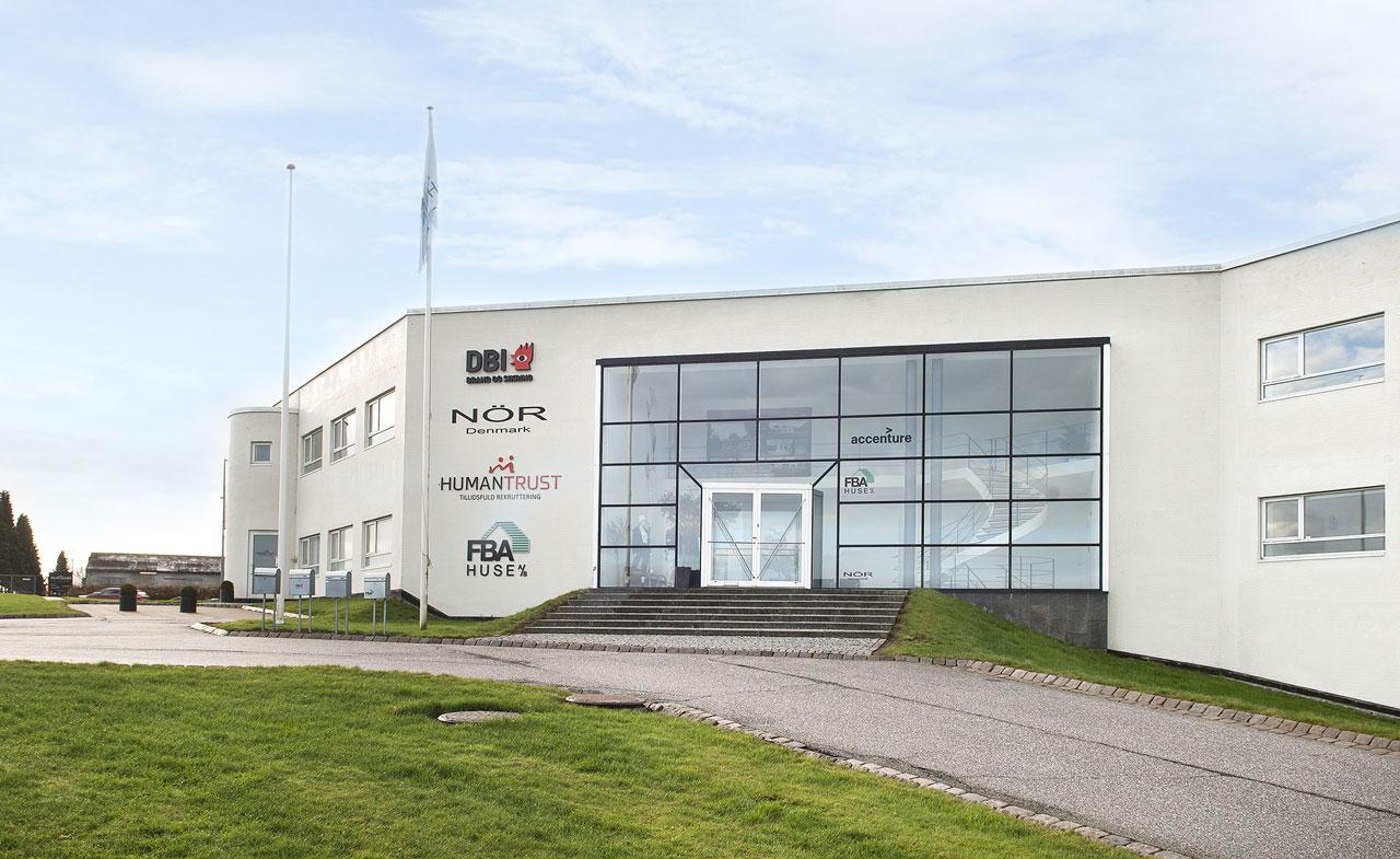 FBA Huse salgskontor og hovedkontor